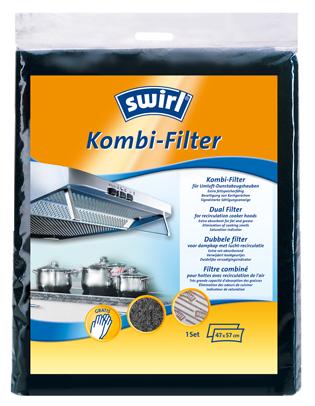 Dvojitý filter do odsávačov pár Swirl®