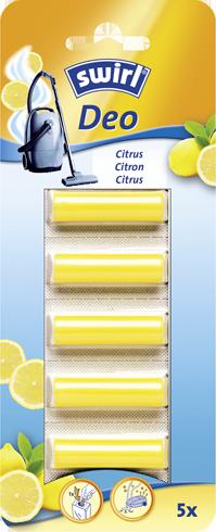 Dezodoračné tyčinky Citrus