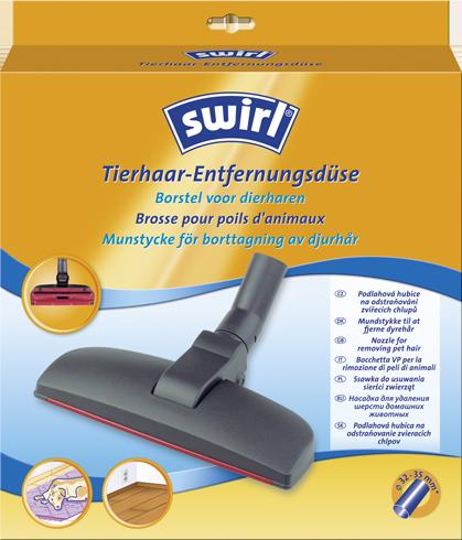 Podlahová hubica Swirl® na odstraňovanie zvieracích chlpov