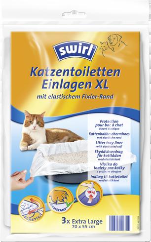 Vložka do mačacích toaliet Swirl®