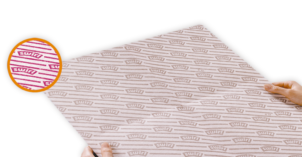 Swirl® flat cooker hood filter